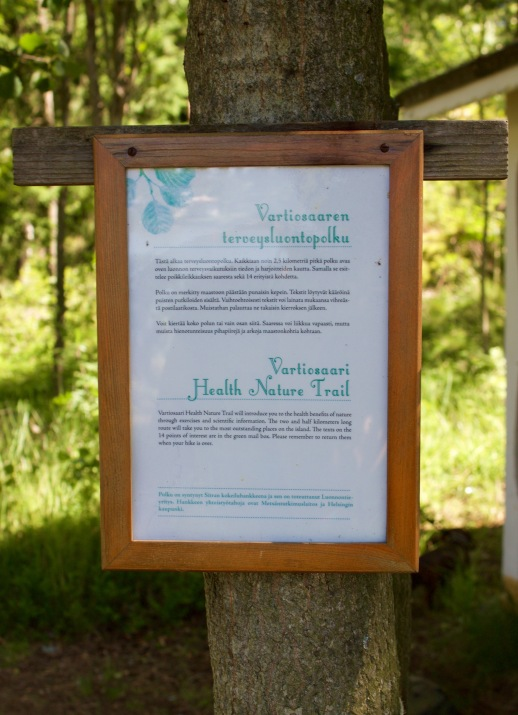 Health nature trail