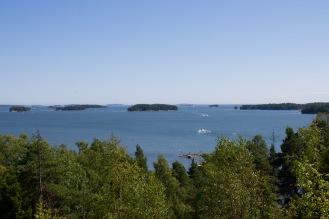 View of the archipelago