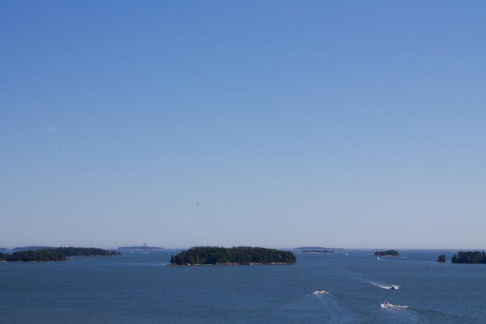 Great views of the archipelago