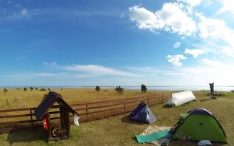 Camping at VIlsandi