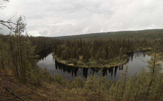 Oulanka river bend