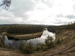 View to Oulanka River