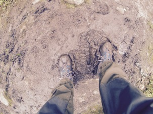 Don't be afraid to get your feet dirty