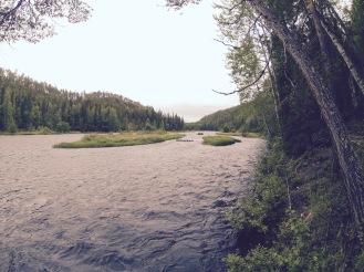 Kitka river