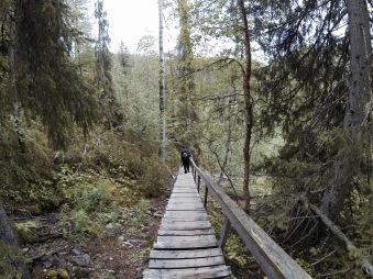 Going to the top of Päähkänäkallio