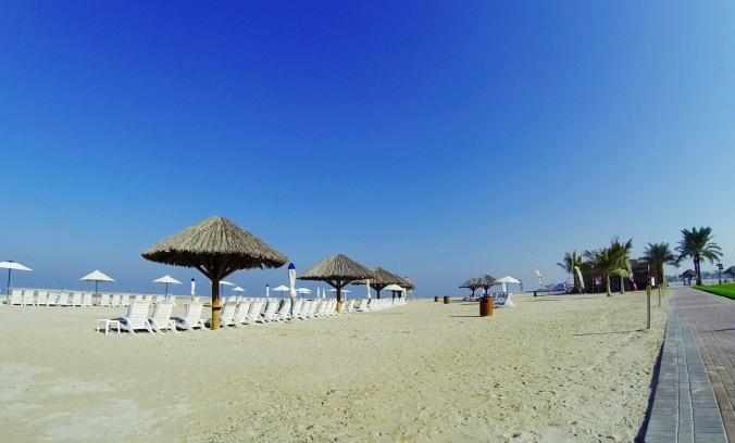 Hilton RAK beach