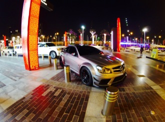 In front of the Dubai Mall