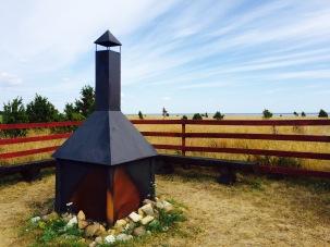 Camping grounds at Vilsandi
