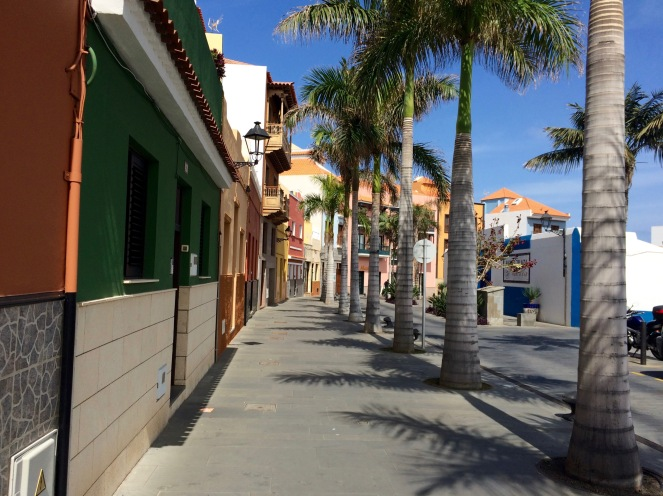 Puerto de La Cruz street
