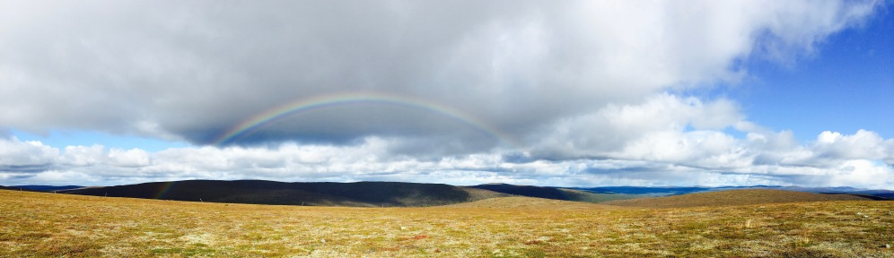 Urho Kekkosen kansallispuisto, UKK National Park, Raututunturit, Sateenkaari, Rainbow